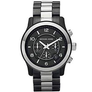 MICHAEL KORS | Runway Chronograph Gunmetal Watch